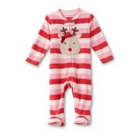 Girls Newborn Pajama   Kmart.com