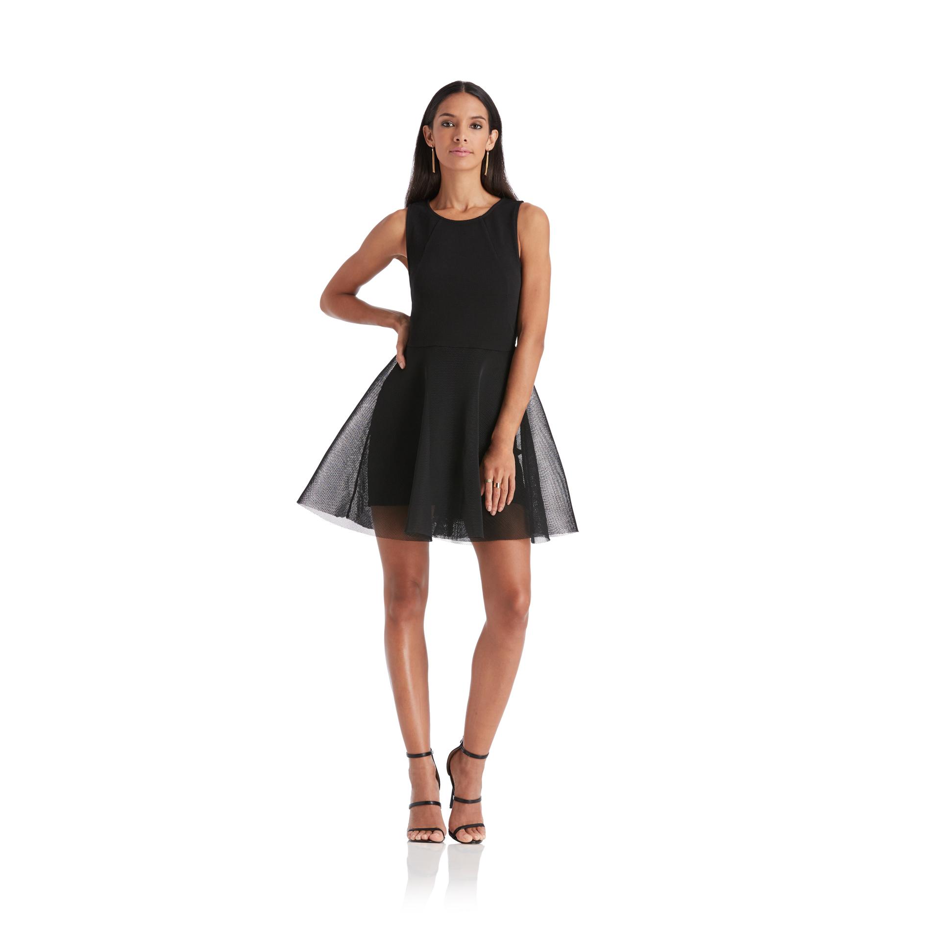 Nicki Minaj Women39s Mesh Party Dress Black