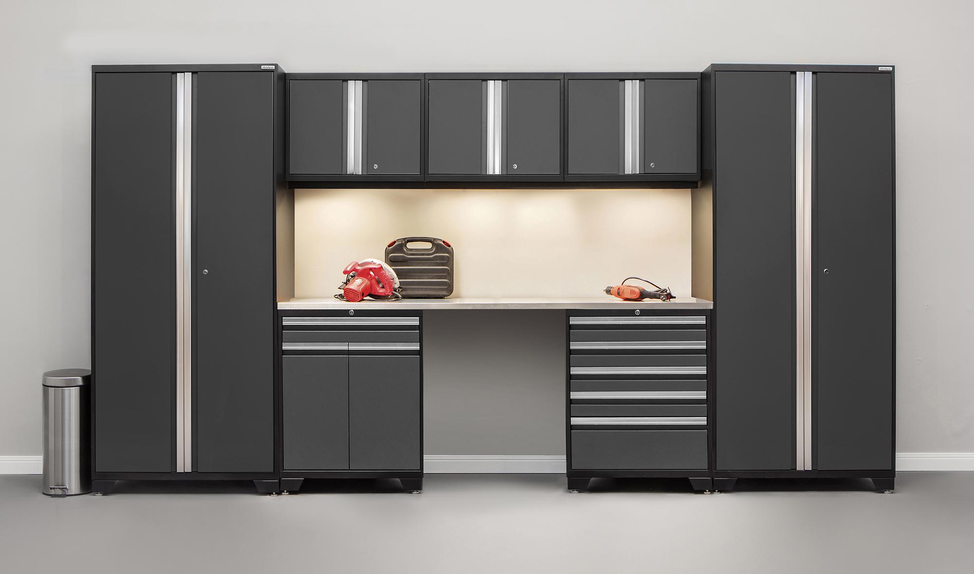 NewAge Products Pro 30 Series 8 Piece Garage Storage