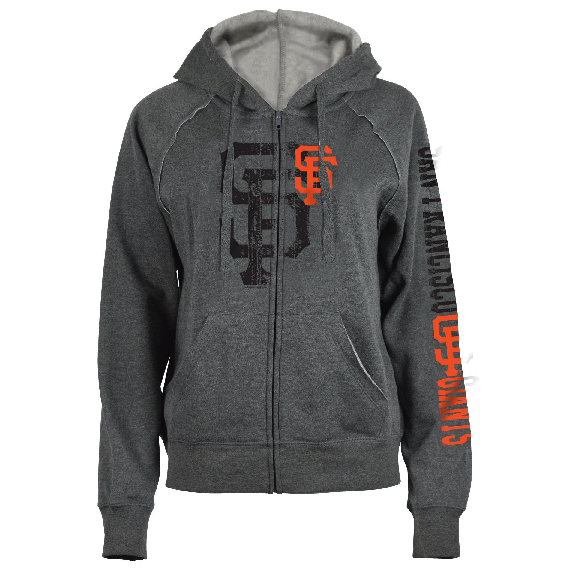 MLB Womens Hoodie Jacket San Francisco Giants