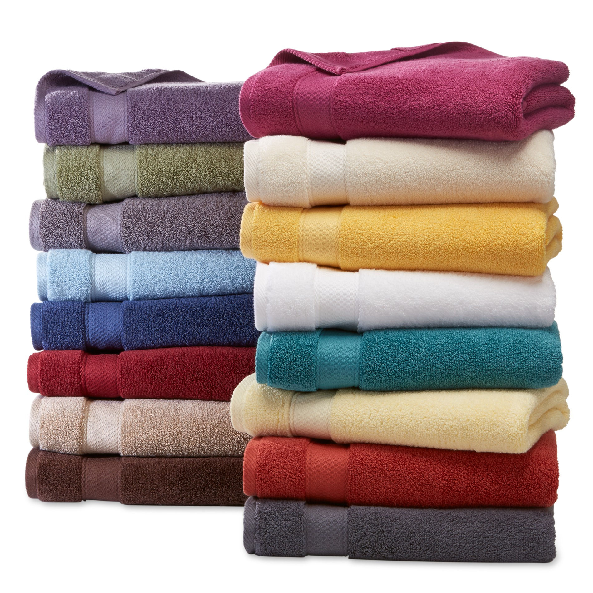 Cannon Egyptian Cotton Bath Towels Hand Washcloths