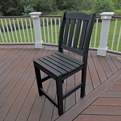 Tall Patio Chairs With Arms Lift Chair Walgreens Highwood Lehigh Commercial Grade Synthetic Wood Counter