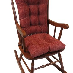 Large Rocking Chair Cushion Sets Tranquil Ease Lift Parts The Gripper Universal Crushed Chenille