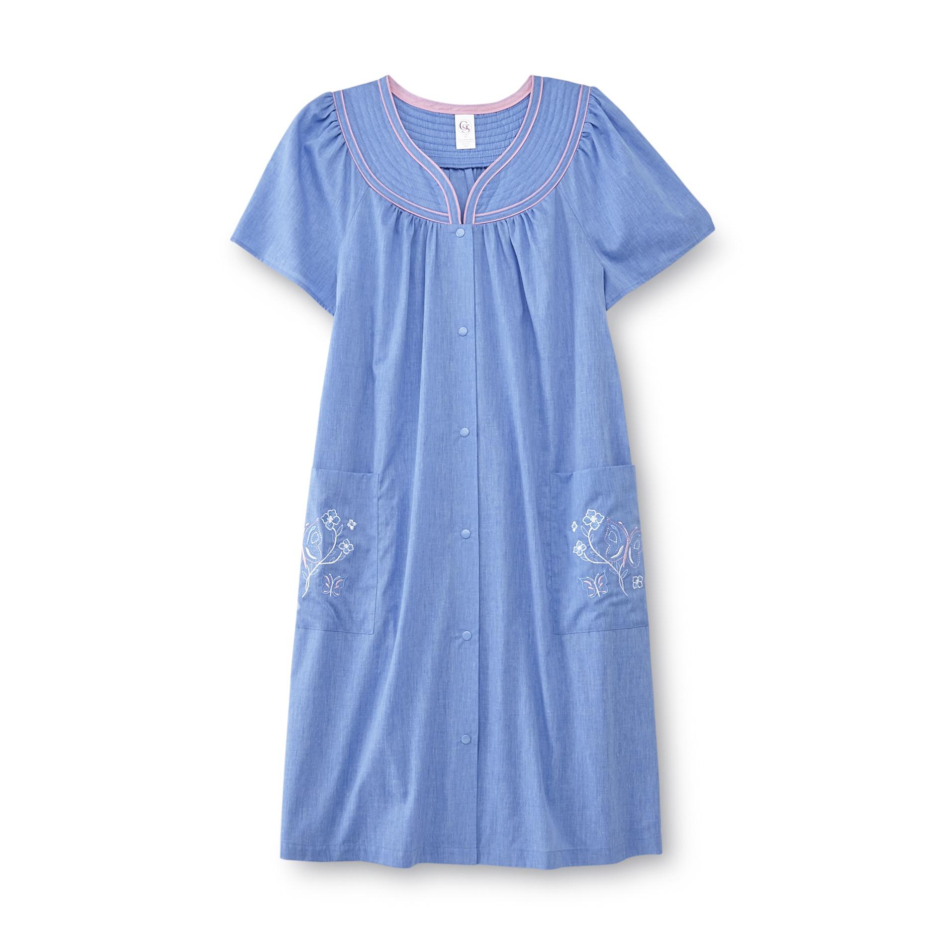 Granada Women39s Chambray Duster Robe Clothing Women39s