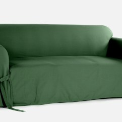 Sofa Covers At Kmart Microsuede Fabric Classic Slipcovers Cotton Duck One Piece Slipcover