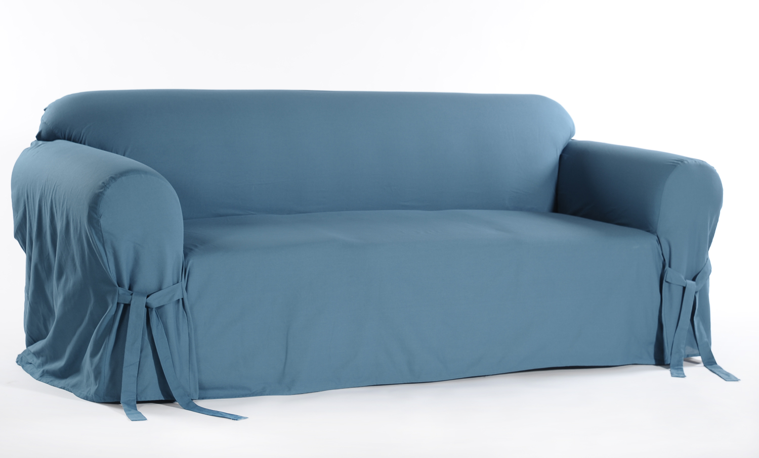 quilted embroidery sectional sofa couch slipcovers furniture protector cotton murphy bed nyc covers kmart classic duck one piece loveseat slipcover