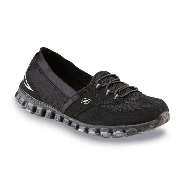 Sketchers Black Slip-On Sneakers