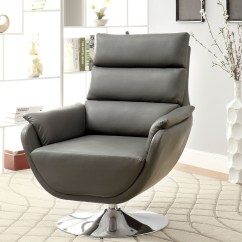 Sears Accent Chairs Gliding Rocking Chair Cover Furniture Of America Contemporary Nina Swivel