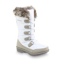 Athletech Women's Quigley White Faux Fur Mid-Calf Winter ...