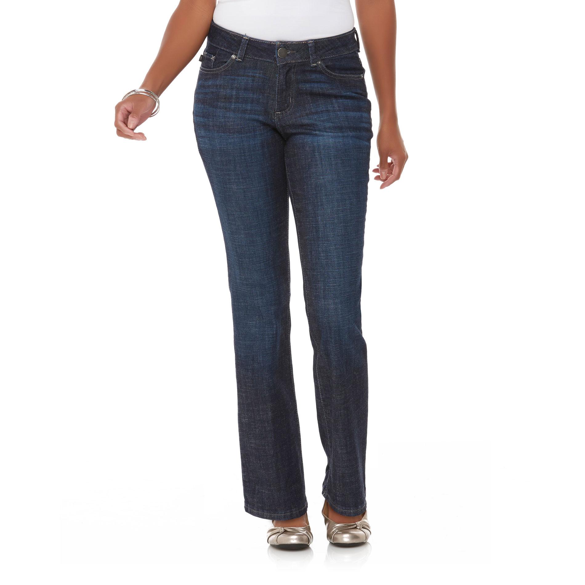 Lee Petite' Curvy Fit Bootcut Jeans