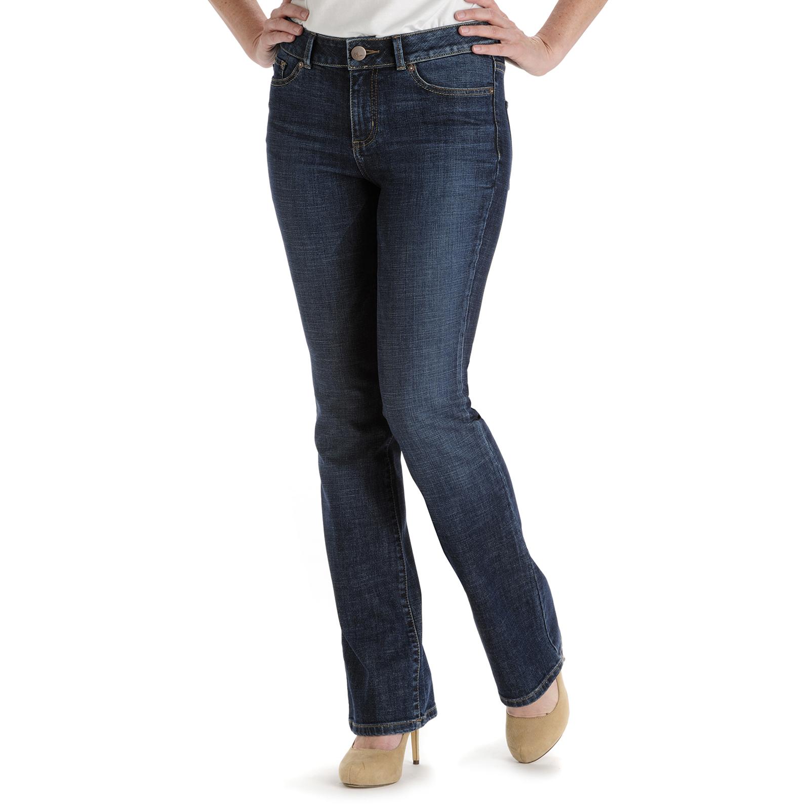 Lee Women' Curvy Fit Bootcut Jeans