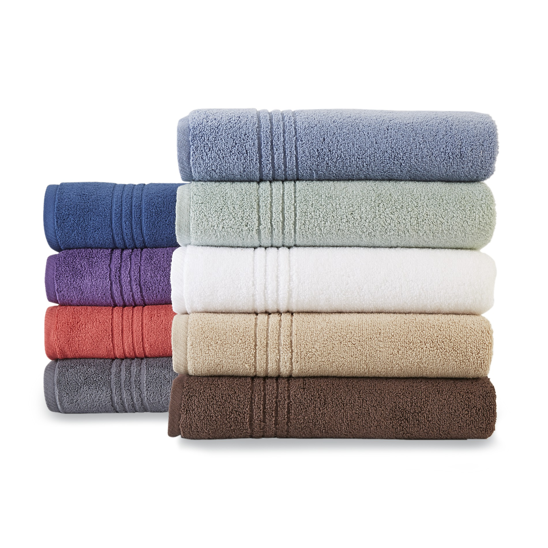 Colormate Soft And Plush Cotton Bath Towels Hand Washcloths