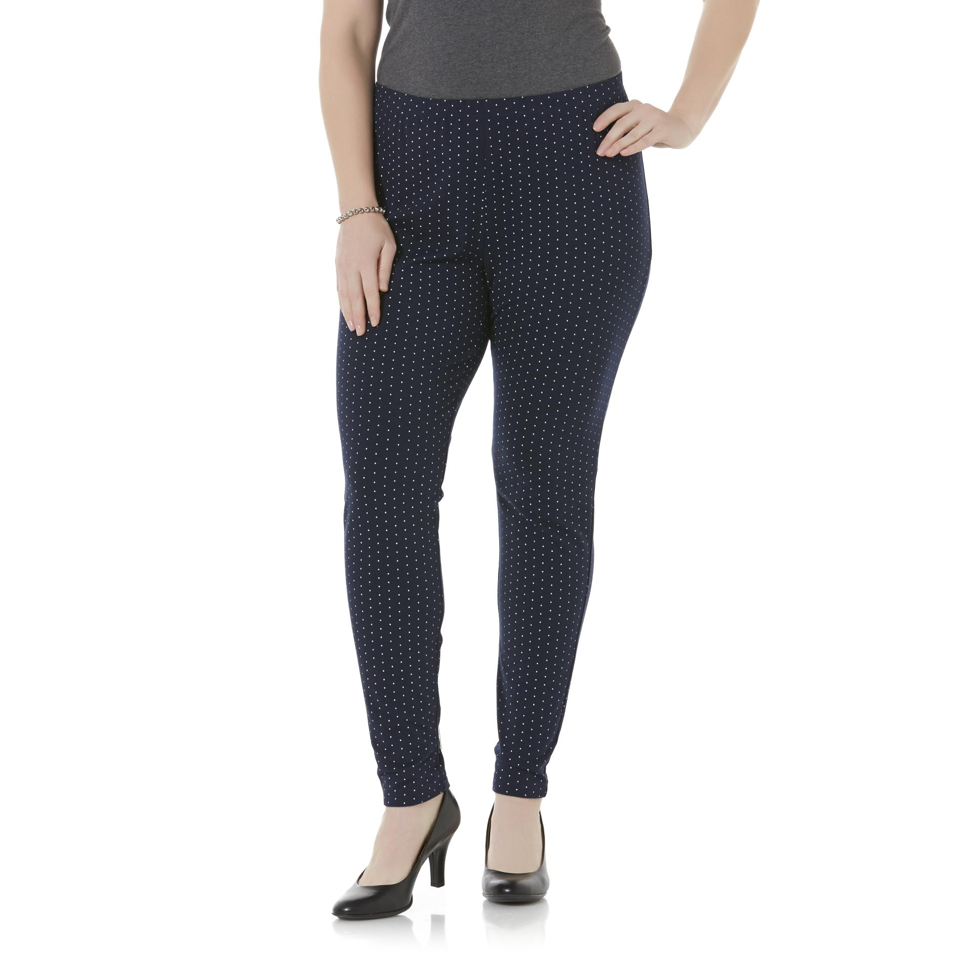 Basic Editions Women' Leggings - Dot Kmart