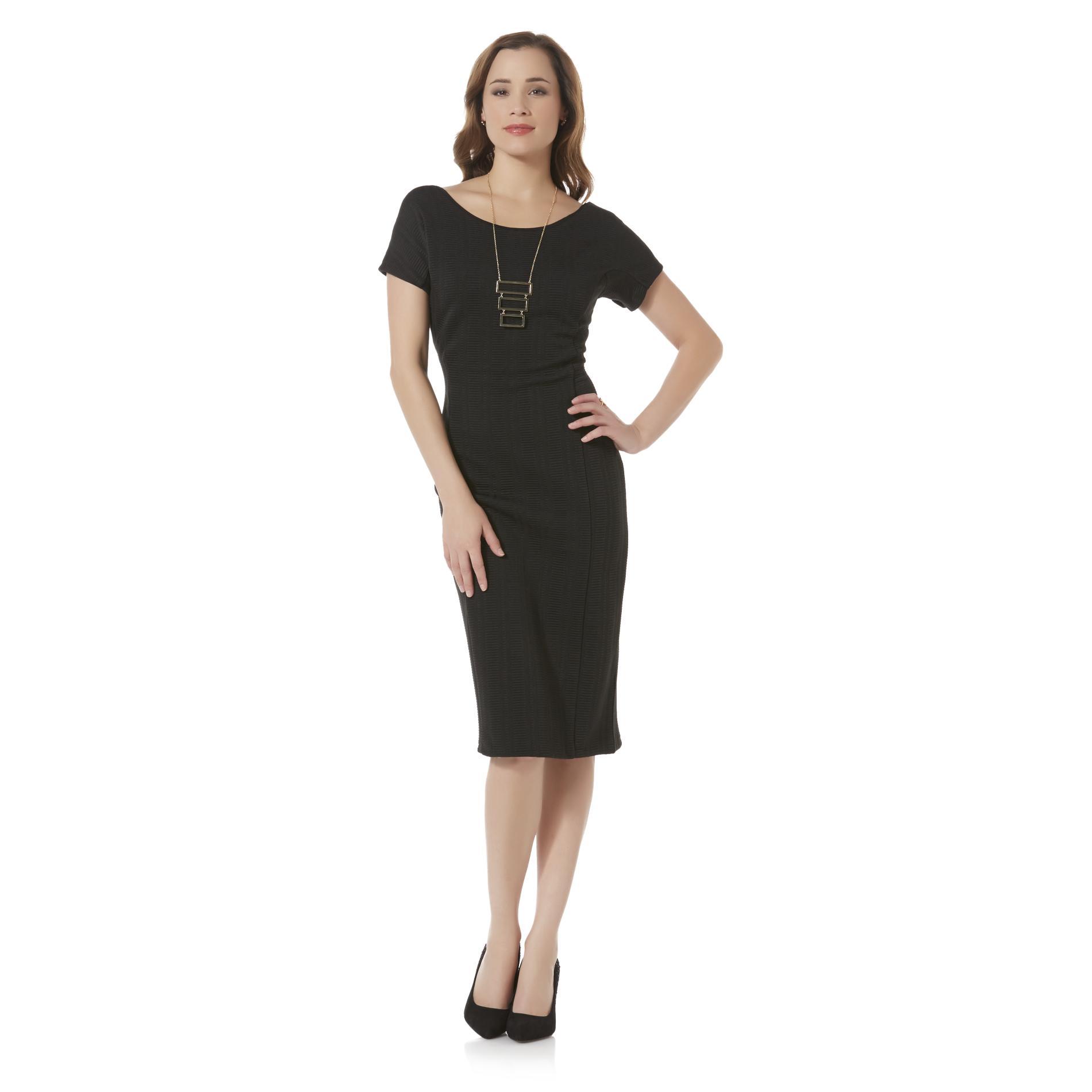 Metaphor Women39s Open Back Dress Sears