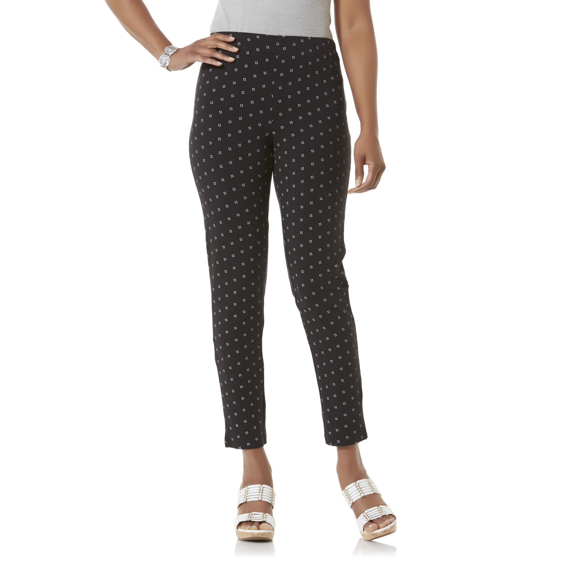 Basic Editions Women' Leggings - Dot Print