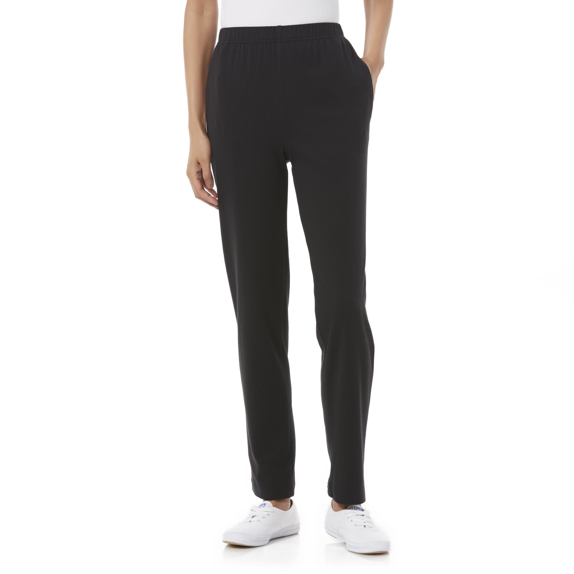 Basic Editions Women' Knit Pants - Clothing