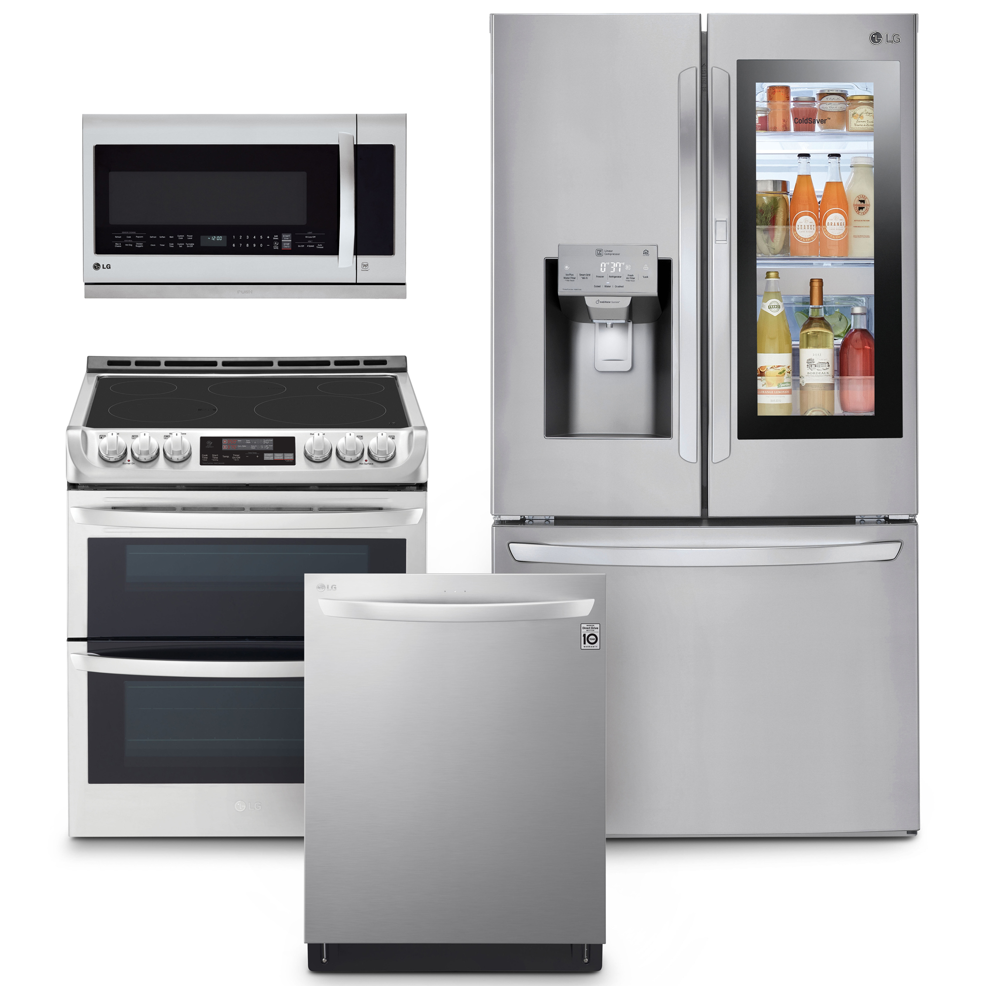 lg kitchen suite countertop materials 4 piece innovation smart wi fi enabled 8211