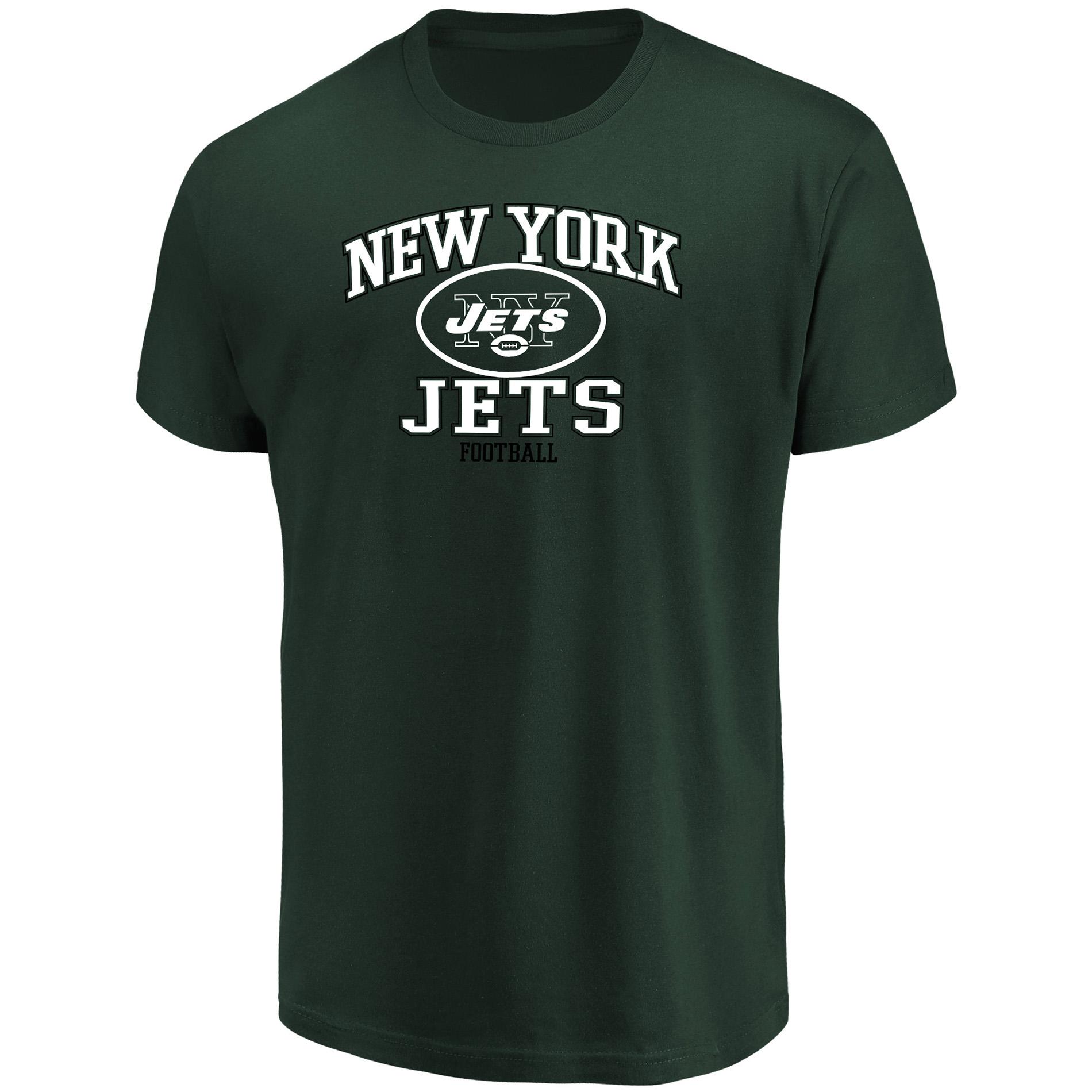 Nfl Men Graphic Short-sleeve T-shirt - York Jets