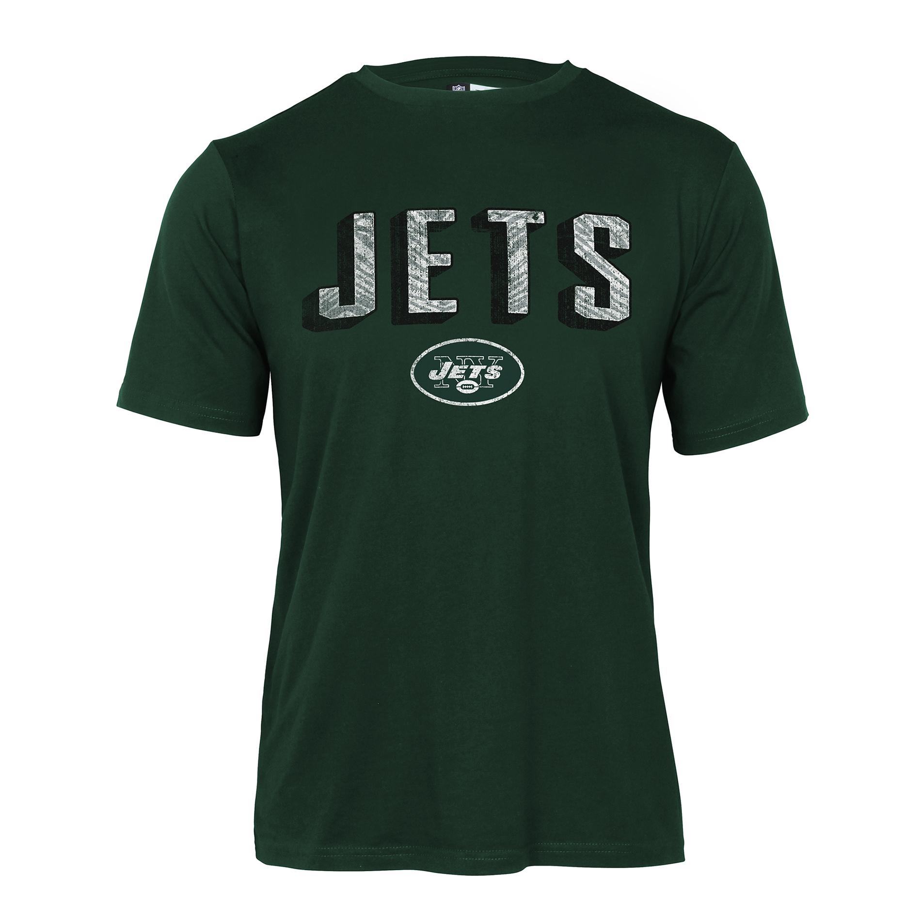 Nfl Men York Jets Short-sleeve T-shirt