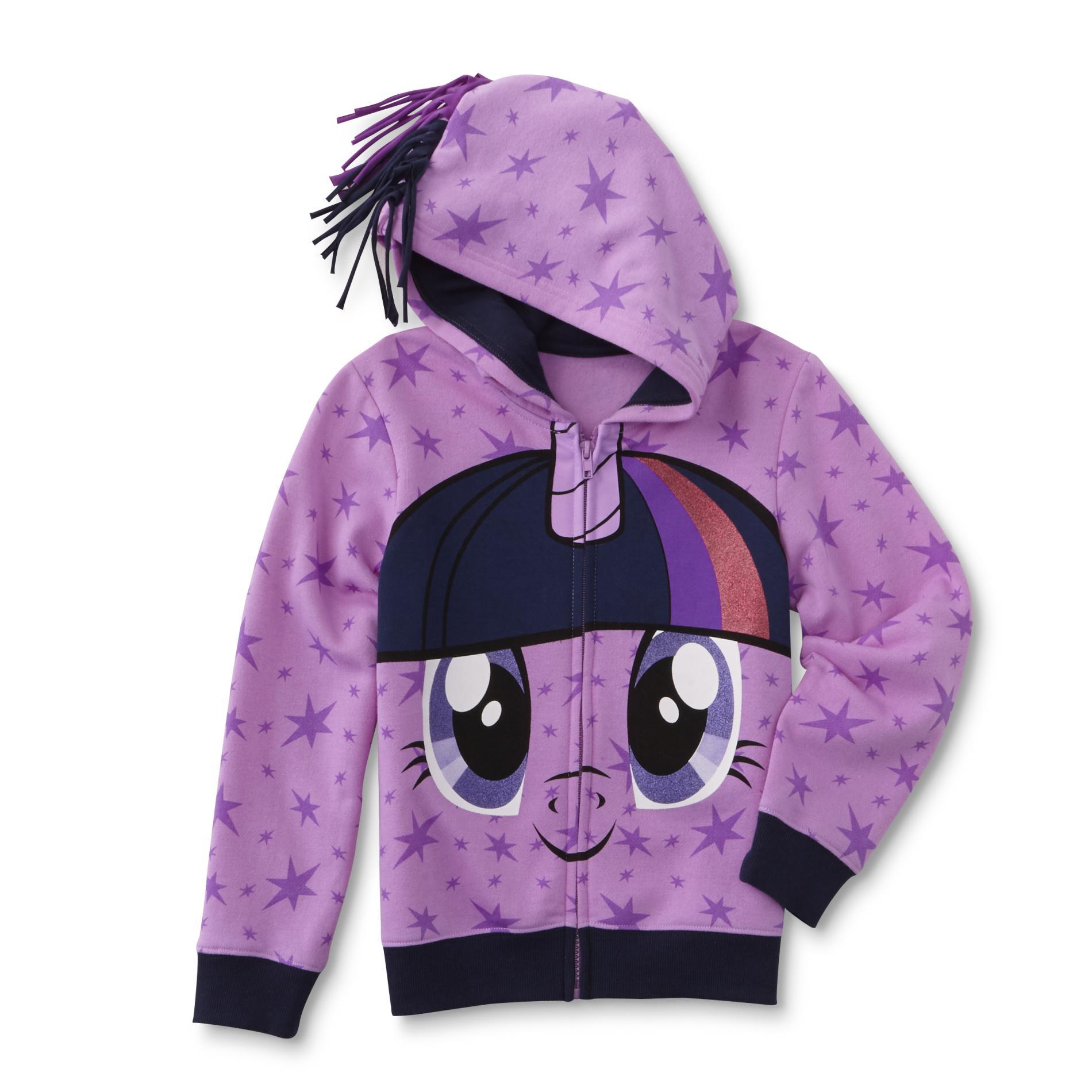 Little Pony Girl' Hoodie Jacket - Twilight Sparkle Kmart