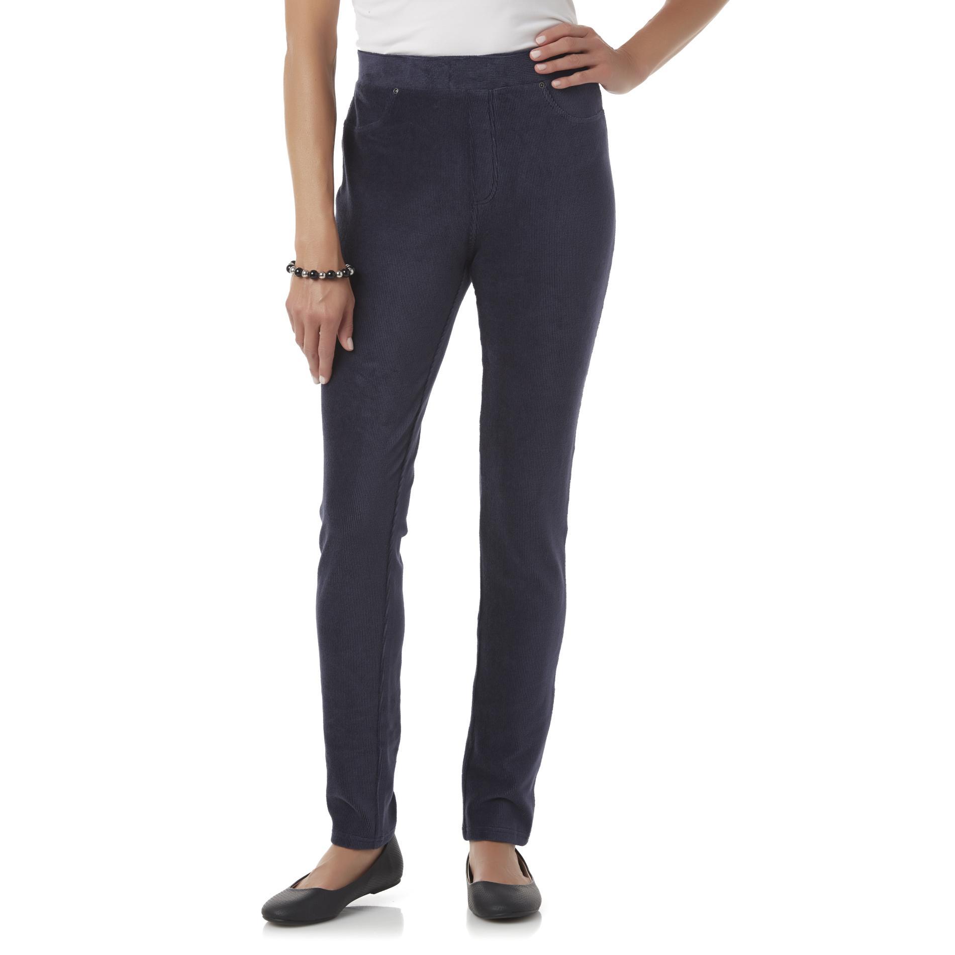 Basic Editions Women' Corduroy Leggings - Kmart