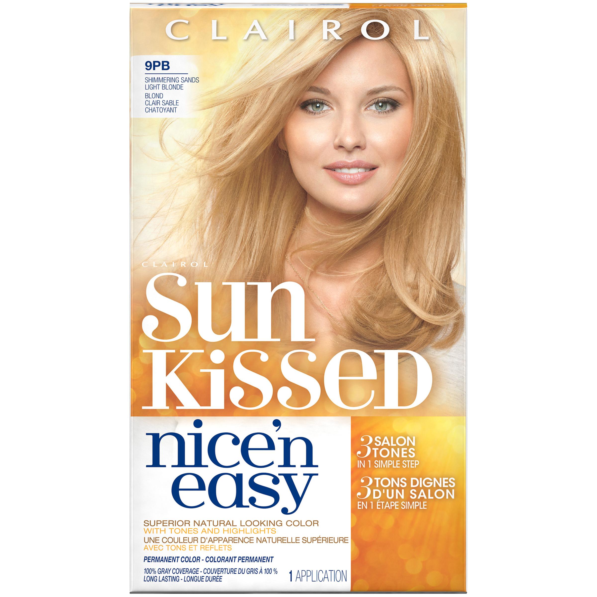 Clairol Nice 'n Easy Sun Kissed Permanent Hair Color ...