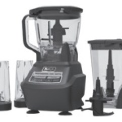 Ninja 1500 Watt Mega Kitchen System Home Depot Tiles Bl770 Professional Blender Food Processor 1