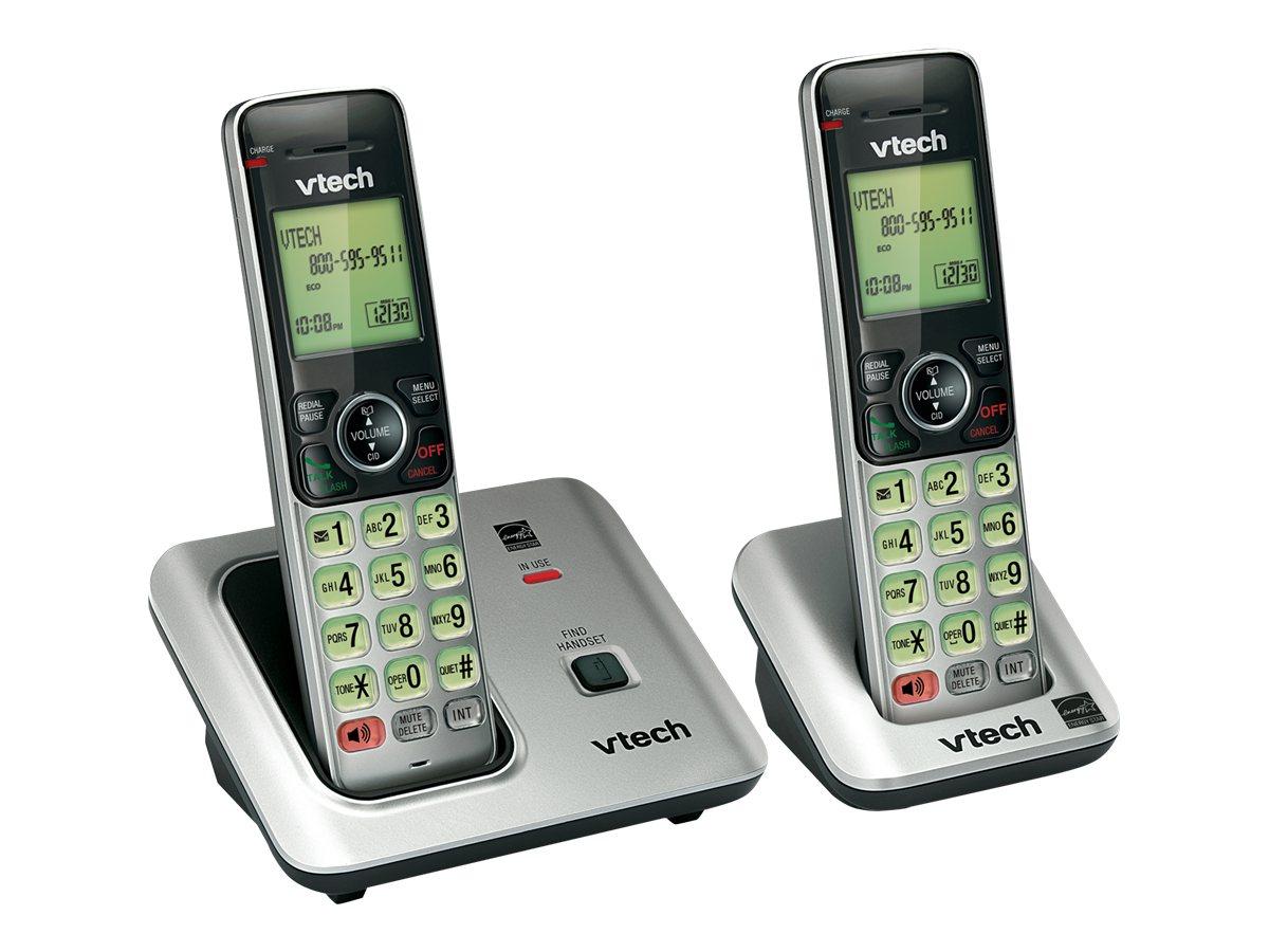 Vtech 2 Handset Cordless Phone System CS66192 with Caller