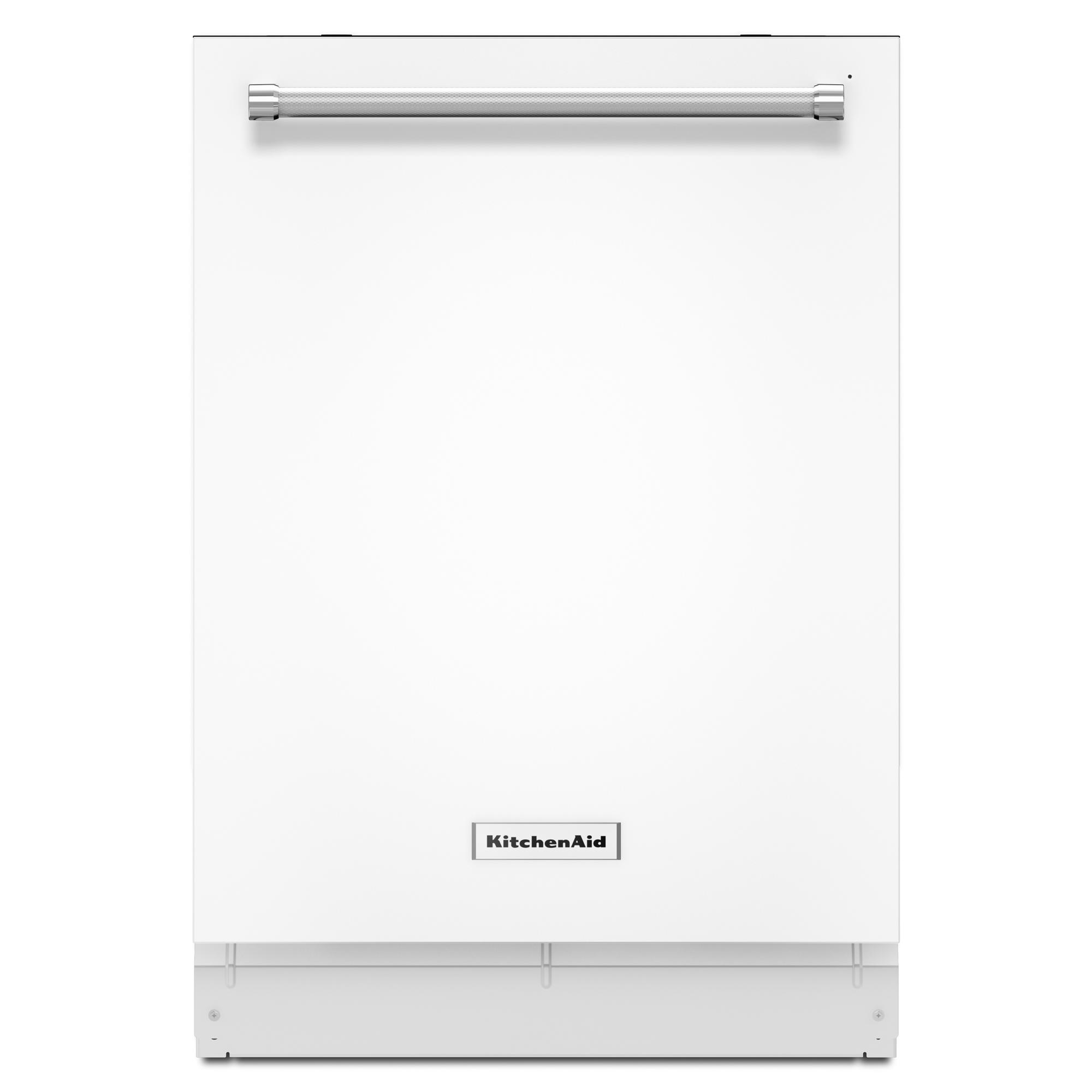kitchen aide dishwasher microwave cabinet kitchenaid kdte204ewh 24 quot top control built in