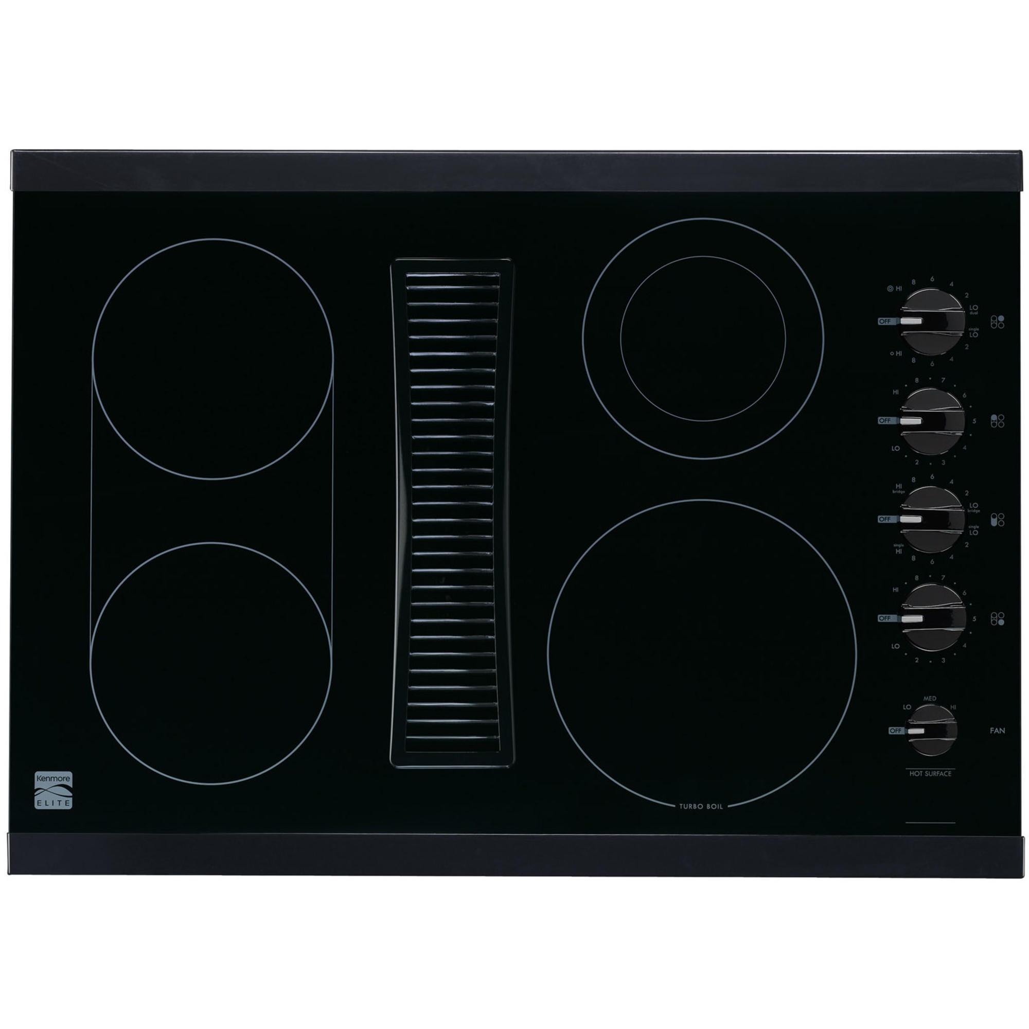 sears kitchen appliances white carts kenmore elite 44119 30
