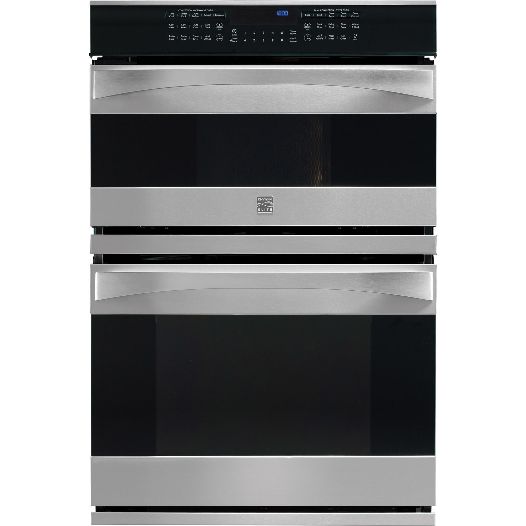 kenmore elite 49113 30 electric combination oven stainless steel