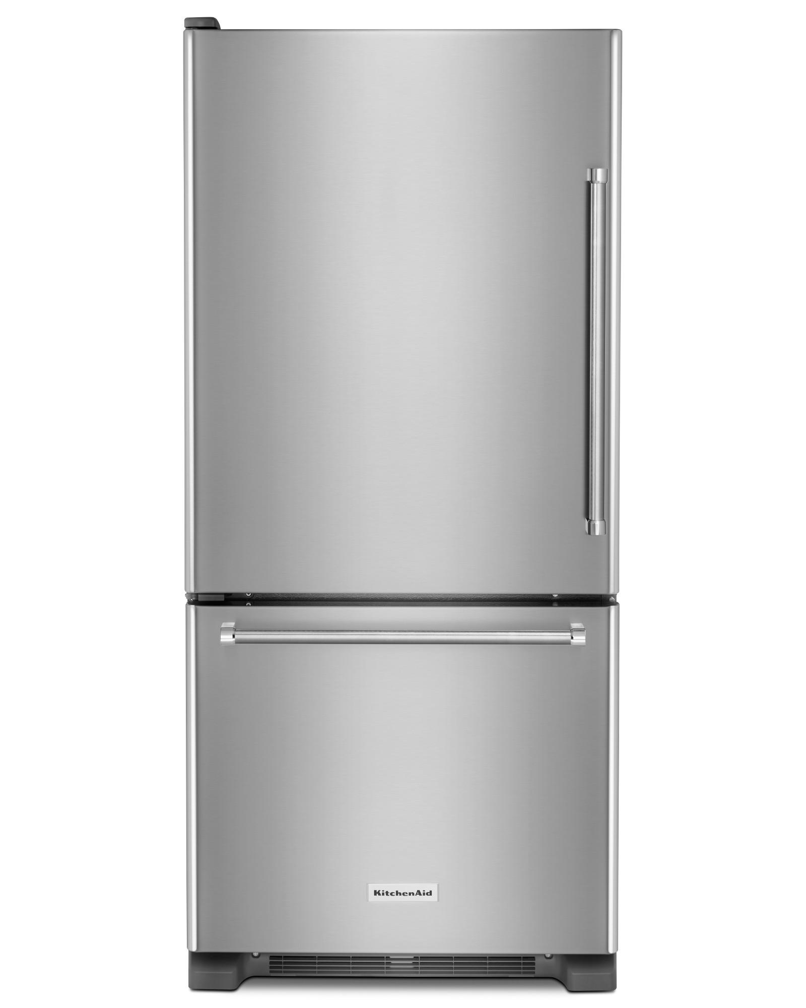 KitchenAid KRBL109ESS 19 cu ft Bottom Mount Refrigerator