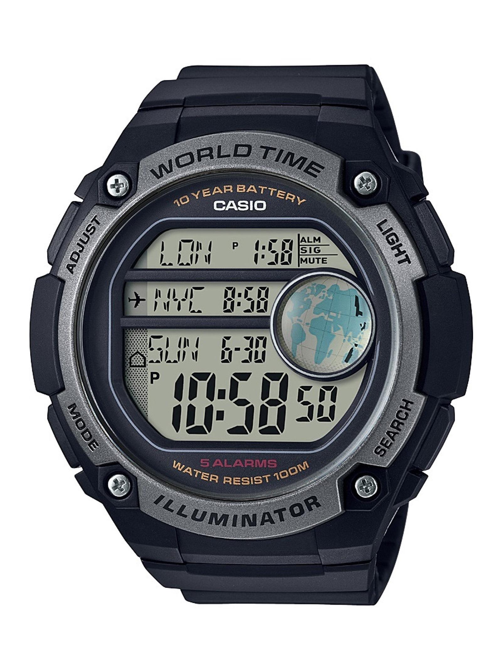 Casio Men' Large Case 10 Year Battery Watch
