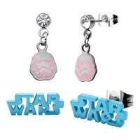 Star Wars Logo and Stormtrooper Earrings Set | Shop Your ...