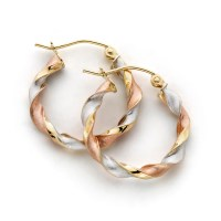 Tricolor Gold Jewelry