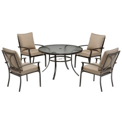 Garden Oasis Patio Chairs Office Chair Buy Online Harrison 5 Piece Cushion Dining Set Blue