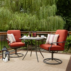 Garden Oasis Patio Chairs Asian Massage Brookston 3 Piece Bistro Set Terracotta