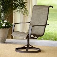 Target Sling Chair Tan Wooden High Hardware Garden Oasis Providence 1pk Swivel Limited