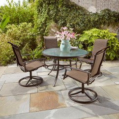 Garden Oasis Patio Chairs Big Lots Computer Chair Harrison 5pcs Motion Dining Set Limited