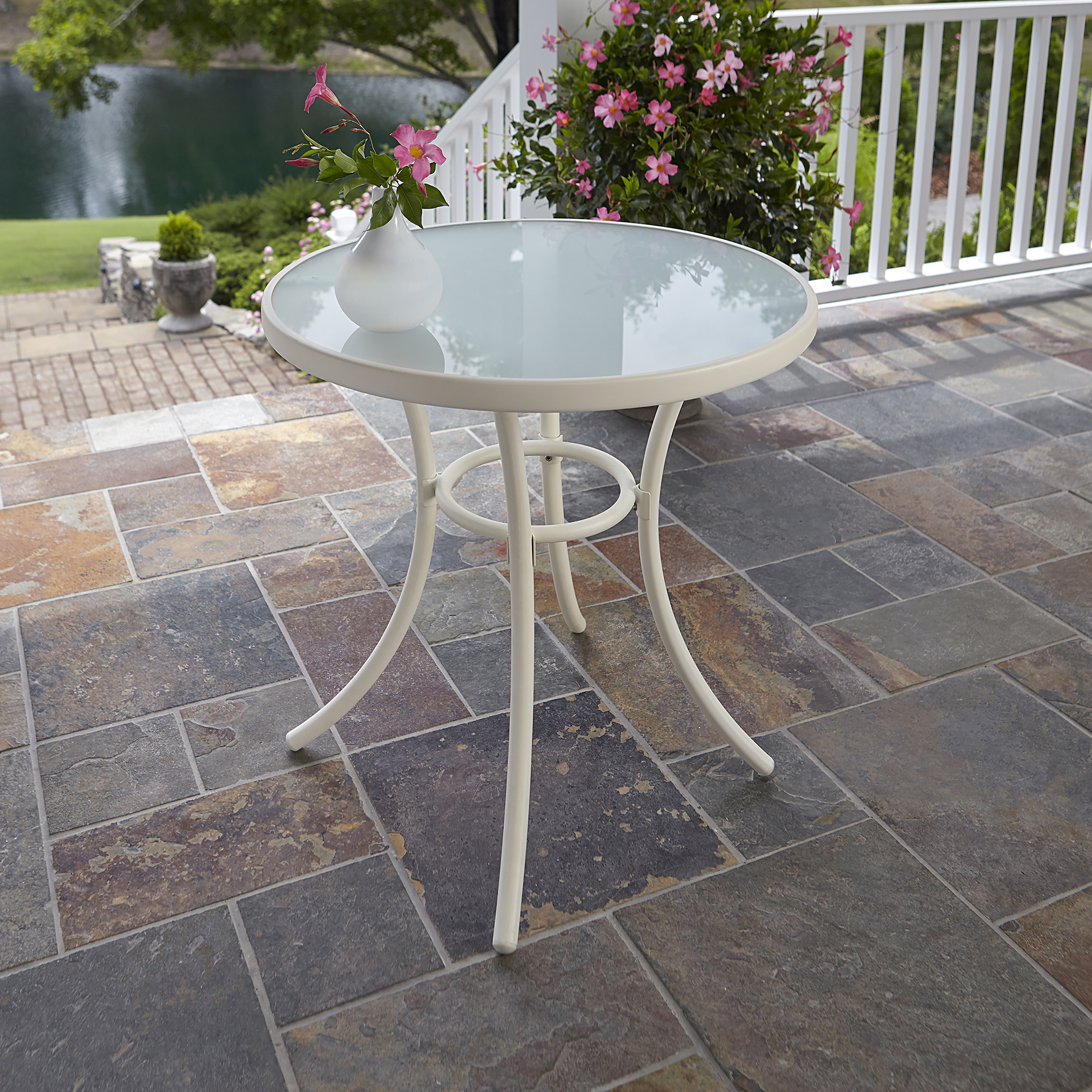 Tempered Glass Patio Table  Kmartcom