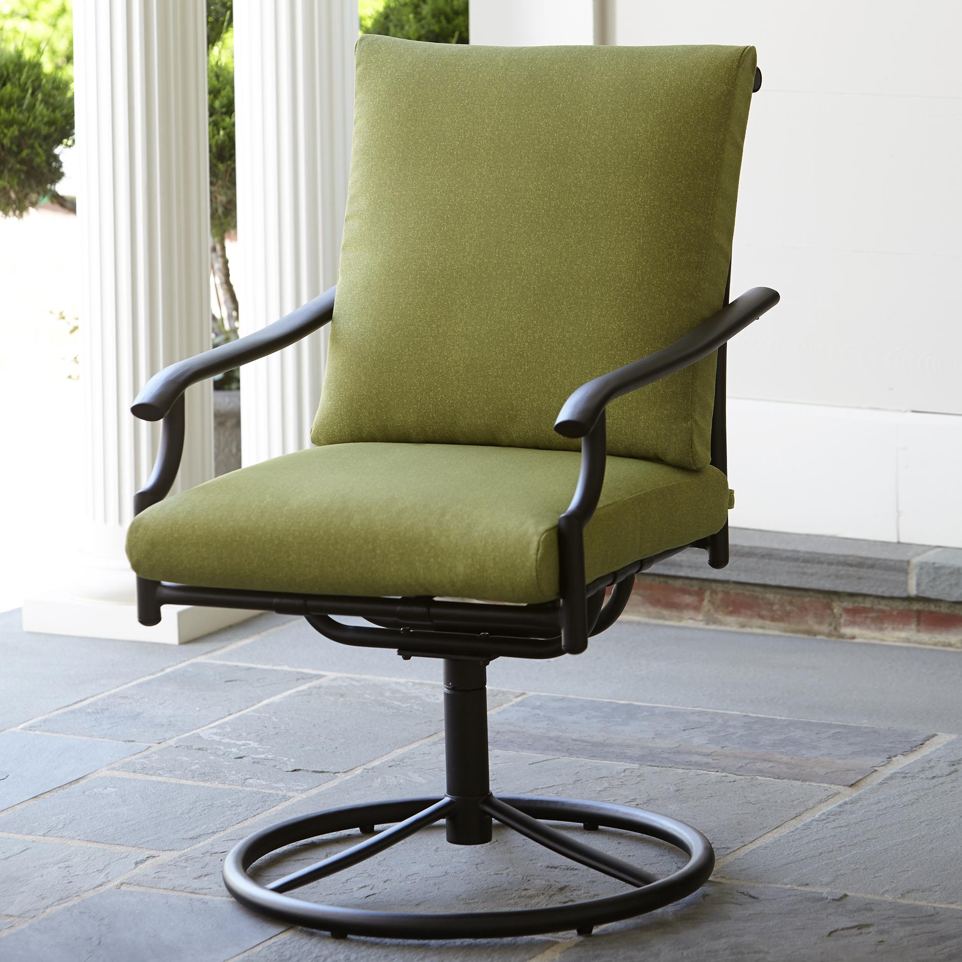Garden Oasis Rockford 1pk Swivel Dining Chair - Outdoor