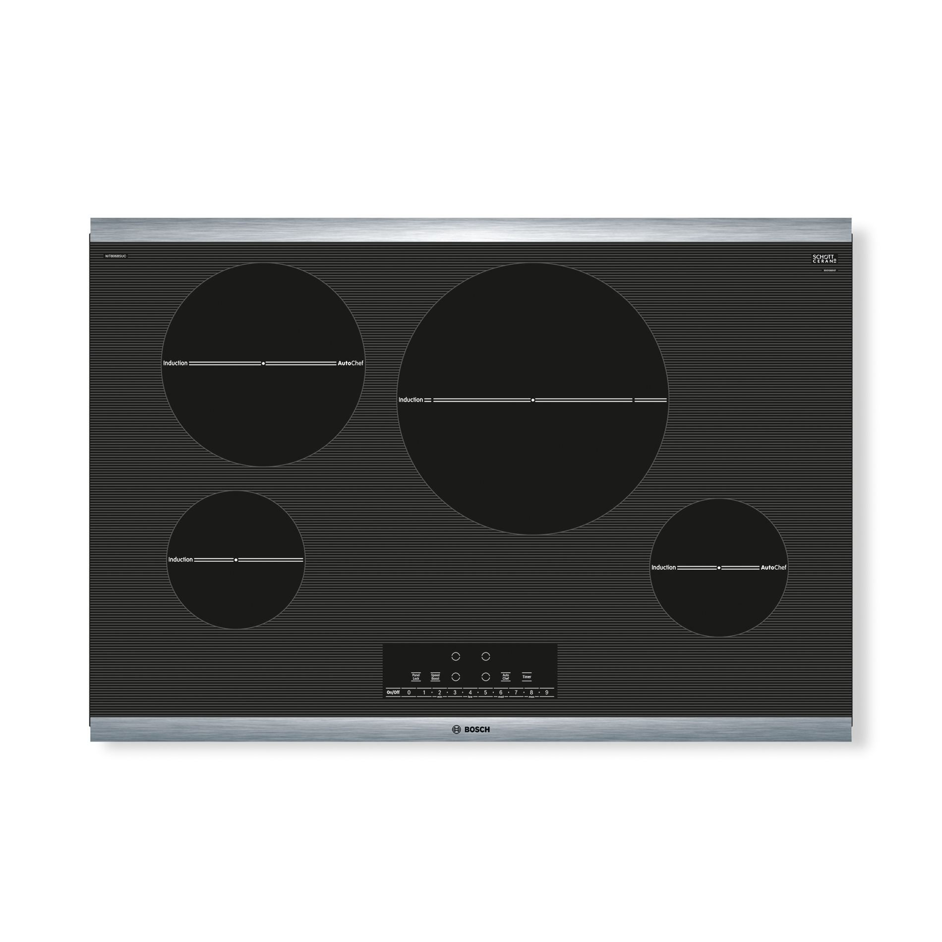 Bosch NIT8068SUC 300 Series 30 Induction Cooktop w Touch