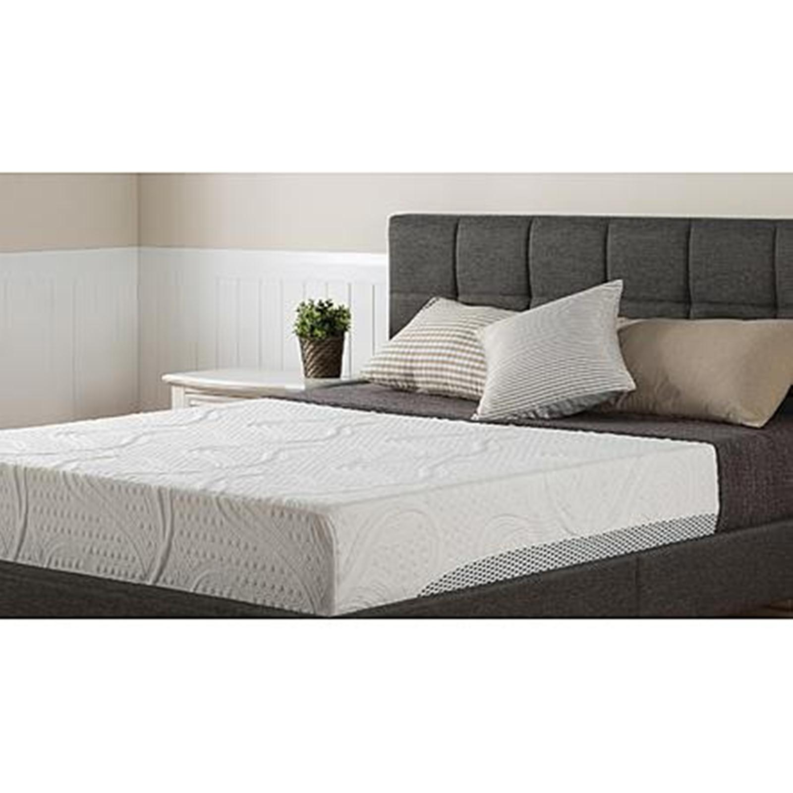 Night Therapy - Nt-sc-fm113-10q 10 Memory Foam Mattress Queen Sears Outlet