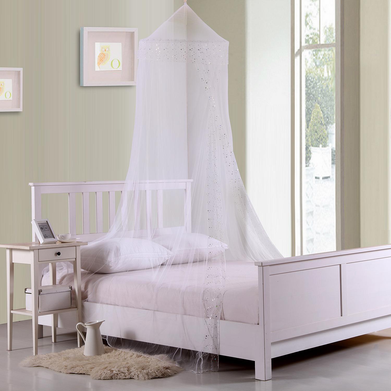 Casablanca Galaxy Collapsible Hoop Kids Sheer Bed Canopy