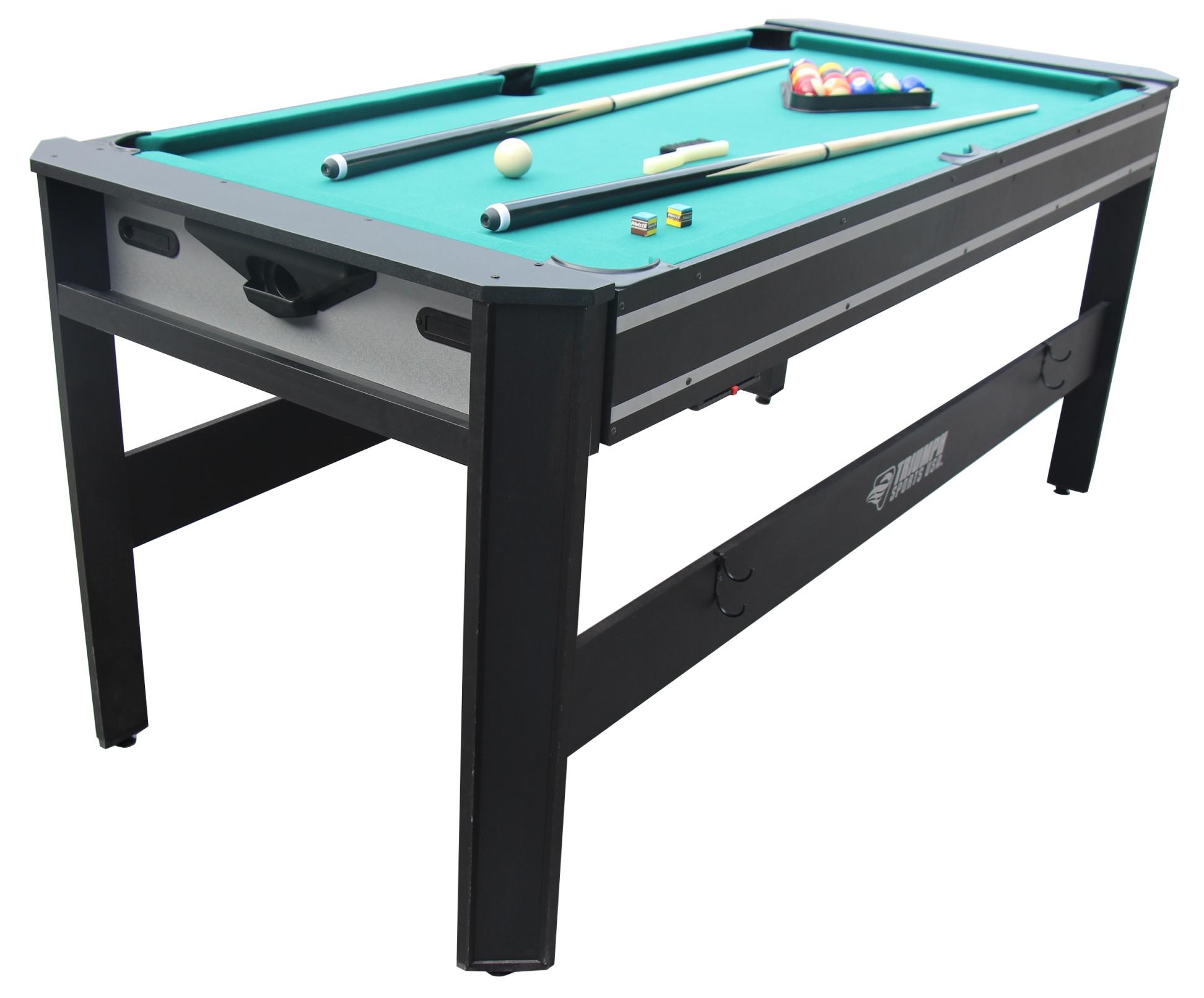pool table kitchen combo designers miami sportcraft 72 4 in 1 swivel fitness