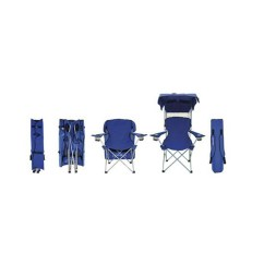 Folding Canopy Chair Bedroom Chairs For Teens Kelsyus Convertible Blue 2