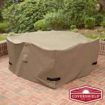 Covershield Square Dining Set Cover- Premium 5 Piece