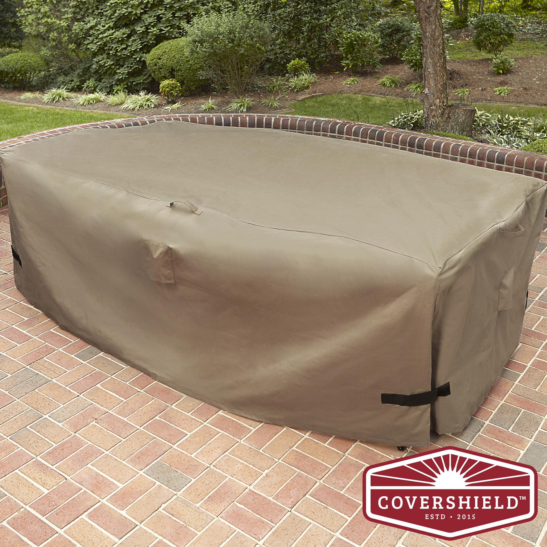 84 patio sofa cover coronado sectional covershield seating group premium outdoor living