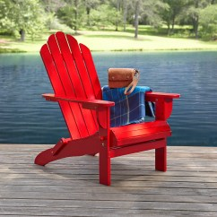 Red Adirondack Chairs Chair Futon Bed Garden Oasis