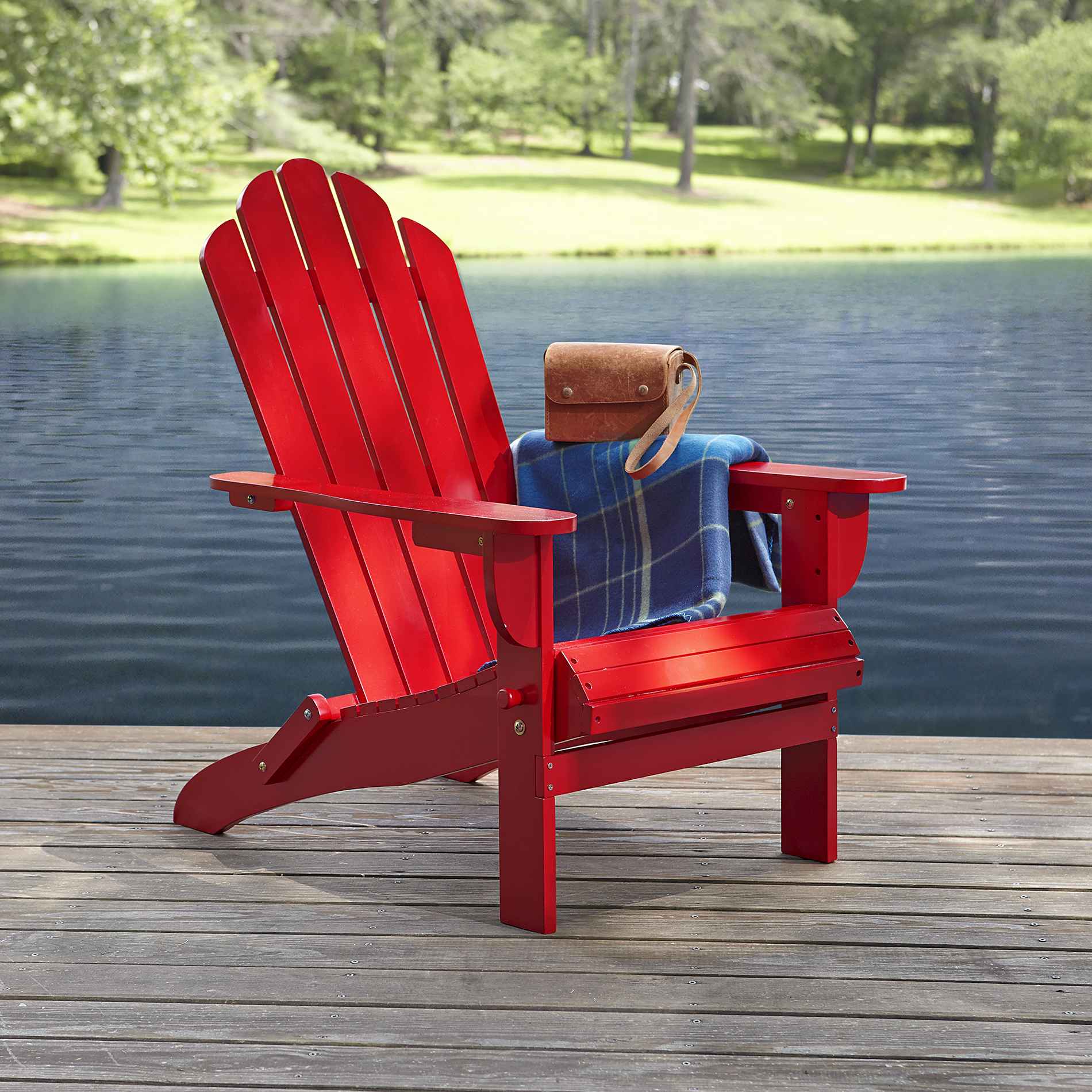 Red Adirondack Chairs Garden Oasis Adirondack Chair Red Free Shipping New Ebay